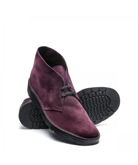 2 EYE AMARONE SUEDE CHUKKA BOOT WITH SOL